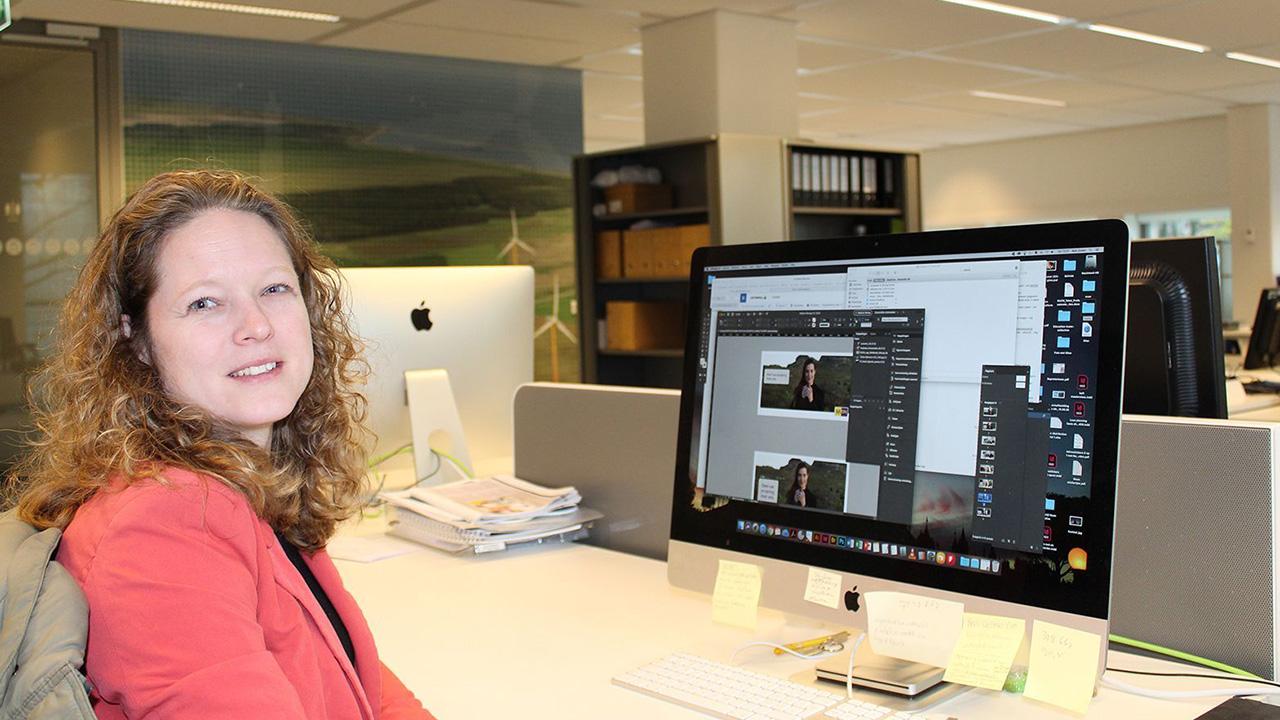 Cadform medewerker werkend aan Vattenfall DTP