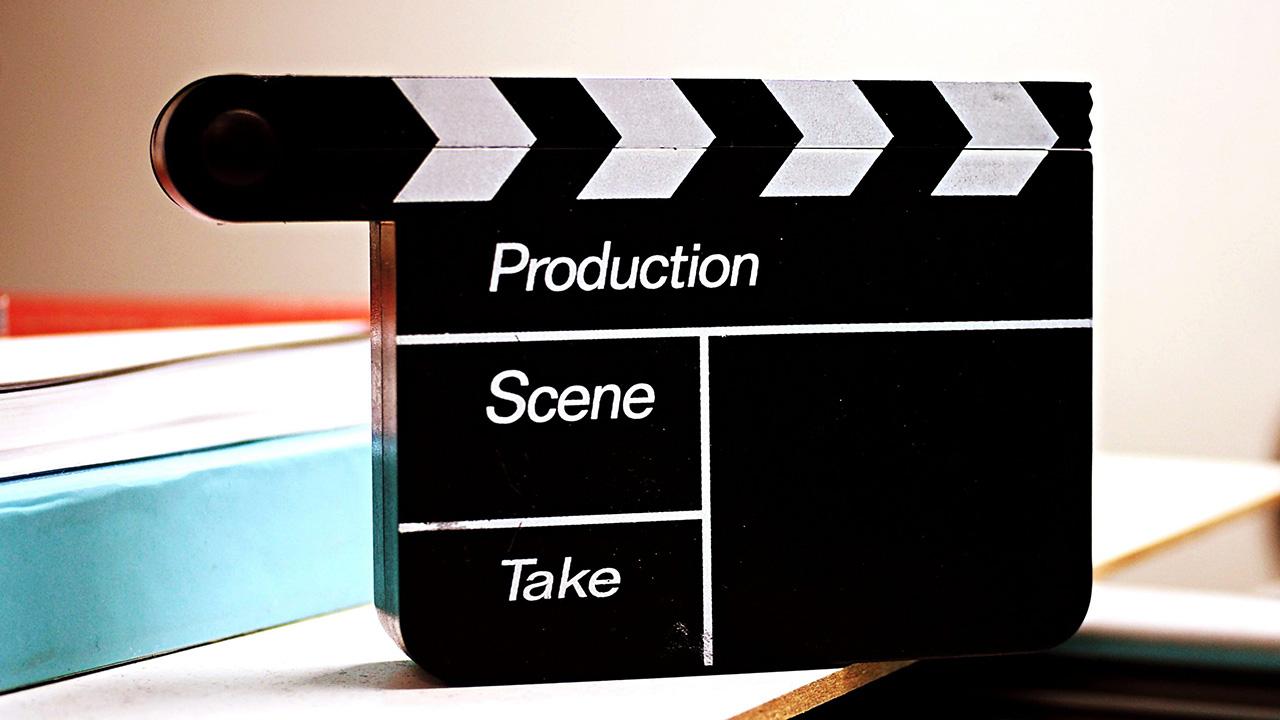 Filmklapper voor tijdens het opnemen van video