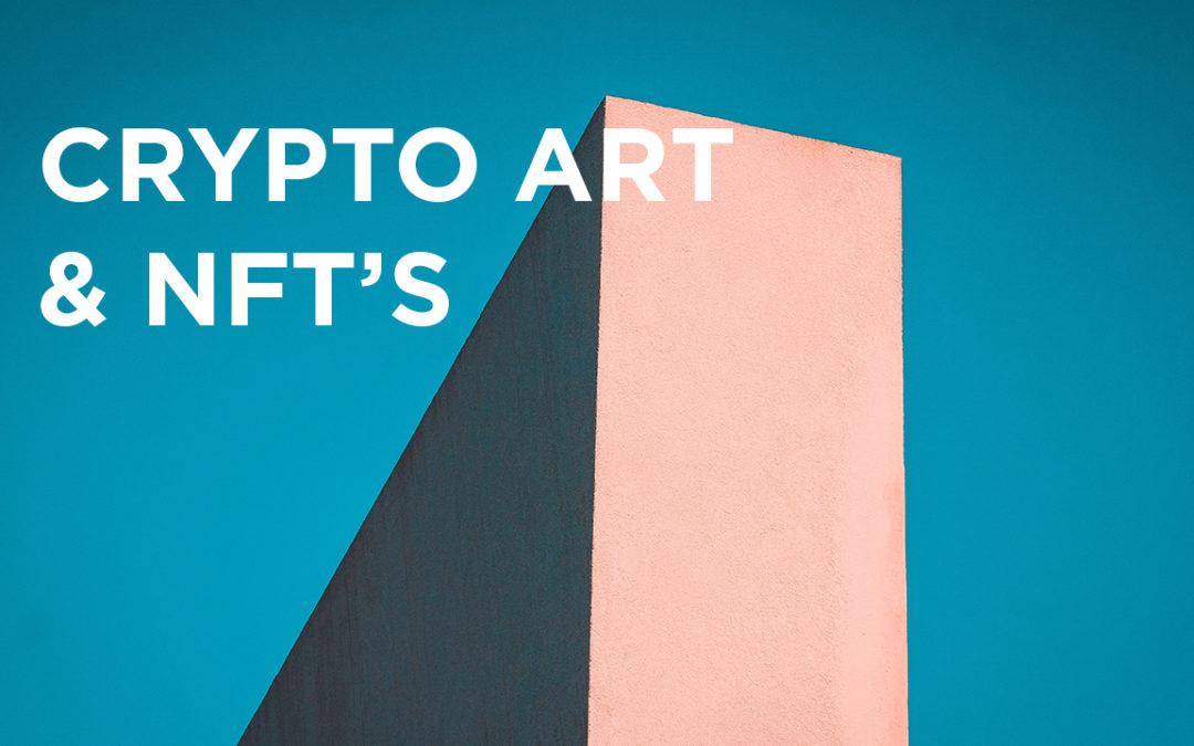 Ook digitale creaties zijn nu exclusief te koop: crypto art en non-fungible tokens uitgelegd.