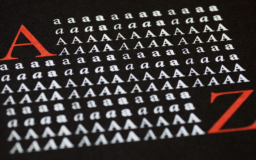Typografie, hoe werkt het eigenlijk?